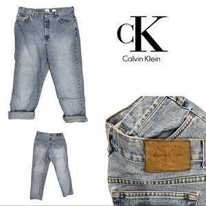 Vintage Calvin Klein mom jeans high waist